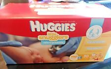 HUGGIES LITTLE SNUGGLERS MP  MICRO PREEMIE UP TO 4 PD  30 DIAPERS  TEENY TINY
