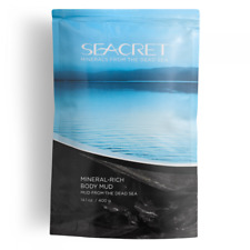 SEACRET  Mineral-Rich Body Mud From The Dead Sea RETAIL $ 37
