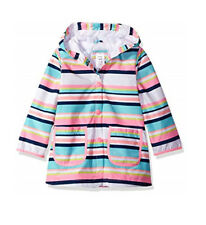 Carter's Baby Girl's Fully Lined Pink Striped Wind Raincoat Jacket 18M NWT