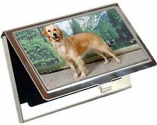 Canine Designs Golden Retriever Standing Business / Credit Card Case