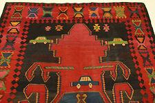 S.ancien nomades kaukasischer LADA Kelim PERSAN TAPIS tapis d'Orient 3,60 x 1,76