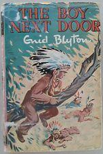 The Boy Next Door by Enid Blyton 1966 HC/DJ Illustrated Gilbert Dunlop