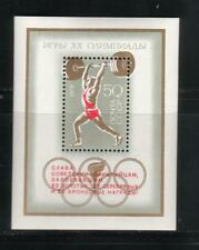 RUSSIA  1972  SC4028  SS OVERPRINTED  20 TH OLYMPIC GAMES MUNICH  MNH    # 723