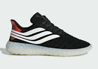 adidas Originals SOBAKOV Mens Casual Sneakers Red Black White BD7549 Size 9
