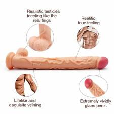 Realistic-Super Long-Huge-Dildo-Plug-Stimulator-Penis-G S pot-Sex-Adult-Toys