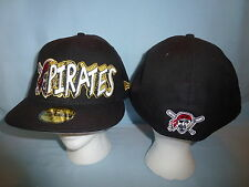 PITTSBURGH PIRATES New Era 59Fifty CAP/HAT Fitted size 7   NWT  $36 retail