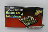 Vintage Magnetic Snakes & Ladders Pocket Board Game