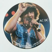 AC/DC - Interview - Vinyl LP Limited Edition Picture Disc UK 1987 NM