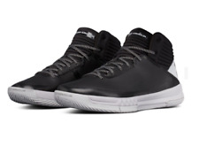 UA Under Armour Lockdown 2 Basketball Shoes Size 7 Black/Grey 1303265 003 New