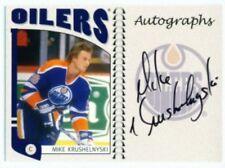 """MIKE KRUSHELNYSKI """"AUTOGRAPH CARD"""" ITG FRANCHISES CANADIAN!"""