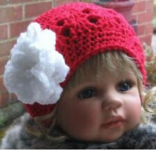 Crochet PATTERN - Rose Berry Cloche Hat - Baby/Child's