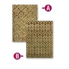 SPELLBINDERS EMBOSSING FOLDERS 2 DESIGNS VENETIAN 5 x 7 inch  EL-021 NEW