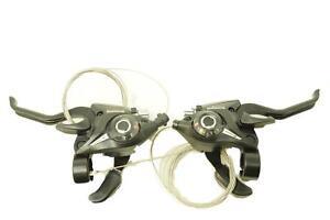 Pair Shimano Altus ST-EF51-8 EZI STI Shifters 24 Speed, 2 Finger Brake Lever
