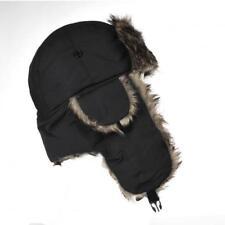 chapka bonnet noir pour homme ou femme