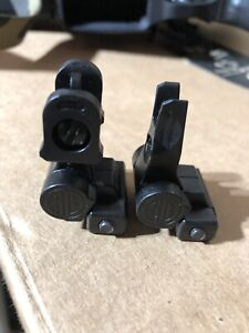 Sig Sauer Flip Up Iron Sights NEW! Made In USA!