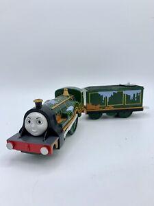 Thomas & Friends Trackmaster Motorized Splish Splash Emily Engine With Tender