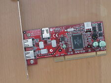 3-Port Firewire IEEE-1394 PCI Adapter Card Pinnacle
