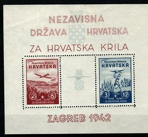 CROATIA 1941. Michel Bl.2  MNH