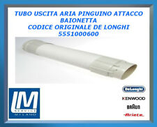 TUBO USCITA ARIA PINGUINO ATTACCO BAIONETTA 5551000600 DE LONGHI ORIGINALE