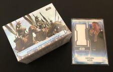 More details for star wars topps 2021 battle plans, 100 card complete base set & costume relic