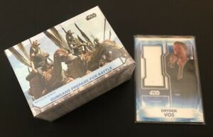Star Wars Topps 2021 Battle Plans, 100 Card Complete Base Set & Costume Relic