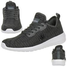 Kappa Gizeh Sneaker Unisex Turnschuhe Schuhe schwarz grau