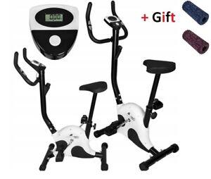 Folding Exercise Bike Monitor Home Indoor Training Exercise Cardio Workout NEW!
