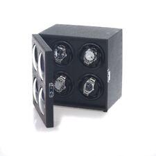 Tourne-Montre Bullseye 4 Montre Cuir Croco Éclairage Led Watchwinder