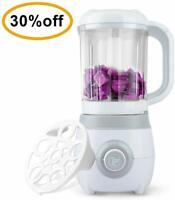 HIP TEC 4-in-1 Healthy Baby Food Maker Steamer Blender Defrost Reheat Overheat