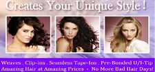 """Pre-Bonded Cold Fusion 18"""" I-Tip Finest European Remy Hair 100 Strands Any Color"""
