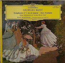BIZET: Symphonie No. 1 en Ut Majeur/Jeux d'Enfants-M1972LP IMPORT JEAN MARTINON