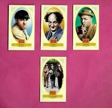 THREE STOOGES MINI SET 2012 PANINI GOLDEN AGE ##54-57 MOE LARRY & CURLEY