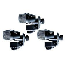 Sennheiser e904 Cardioid Drum Dynamic Microphone For Toms Snare Drums 3 Pack