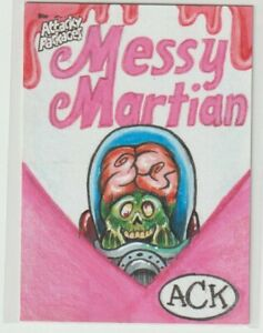 Wacky Attacky Packages  Sketch Card 2020