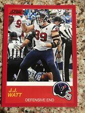2019 Panini Score NFL JJ Watt Red Parallel #48 Houston Texans