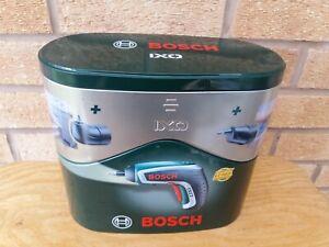Bosch IXO 3.6V Li-Ion NEW Cordless Screwdriver Set with angle & offset Heads.
