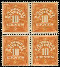 PS1, Mint VF 10¢ NH/LH Block of Four Stamps - Stuart Katz