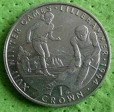 Großbritannien Gibraltar 1 Crown 1993  PP