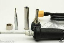 12v Portable 30W Soldering Iron XT60 Plug 3S 11.1v Lipo Battery Hako Ceramic UK