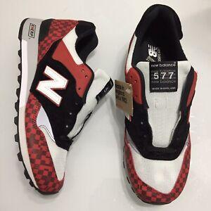 New Balance M577HJK Harajuku Made In England Black Red White Mens 9.5 10.5