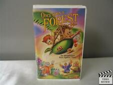 Once Upon a Forest VHS, 1993 Animated Large Case James Horner
