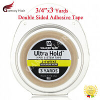 "Walker Ultra Hold Tape 3/4"" X 3 Yards Hair Systems Toupee Wig Double Sided Tapes"