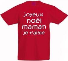T-shirts et hauts rouge à manches courtes avec un motif Logo pour garçon de 2 à 16 ans