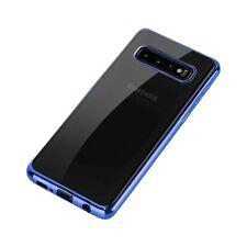 Samsung Galaxy S10 Plating TPU Bumper Mobile Phone Crystal clear Case Slim