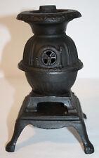 Antique Salesman Sample Pot Belly Parlor Stove Cast Iron