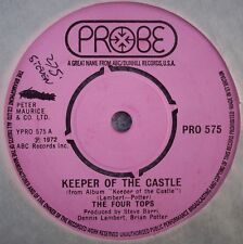 THE FOUR TOPS Keeper Of The Castle / Jubilee With Soul UK PROBE Funk Soul Motown