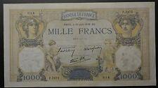GB612 - Banknote Frankreich 1000 Francs 1938 (30 Juin) Pick#90c RAR France