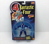 Vintage Toy Biz 1994 Marvel Comics Fantastic Four Black Bolt Action Figure