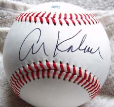 Al Kaline Signed Rawlings Minor League Baseball Auto Detroit Tigers