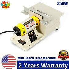 Multifunctional Mini Bench Lathe Machine Electric Grinder Polisher Driller 350W